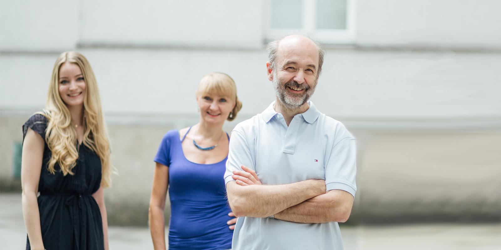 Dr. Ledermüller und sein Team